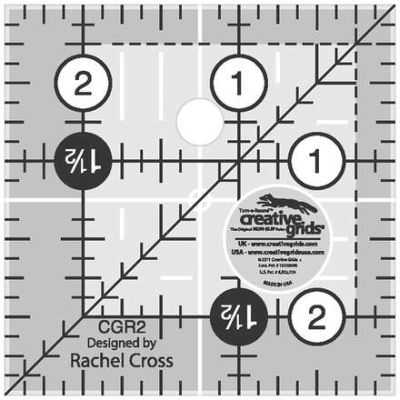 Creative Grids Quilting Ruler 2 1/2in Square CGR2 743285000166 Rulers & Template...