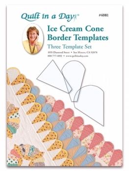Ice Cream Cone Border Templates 735272040811 Rulers & Templates