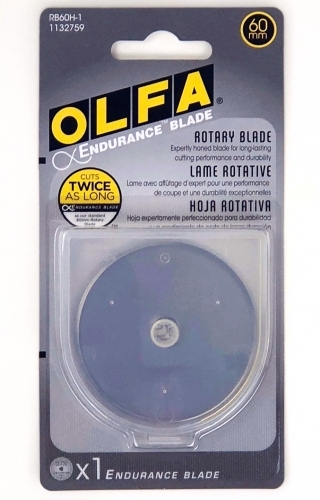 60mm Endurance Rotary Replacement Blade - Olfa - 4121