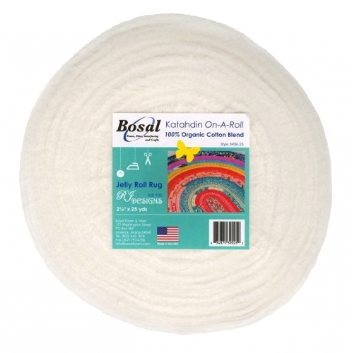 Bosal Katahdin On-A-Roll 2.5x25 yds - Quilting Notions