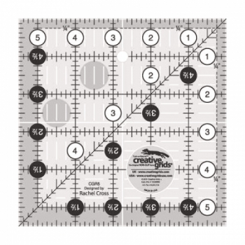 5.5 inch Square Ruler CGR5 by Creative Grids