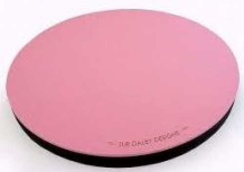 Pink Rotating Cutting Mat 10 Inch