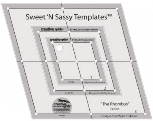 SWEET N SASSY RULER CGRPA1 by Creative Grids
