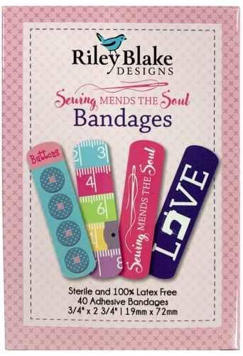 Sewing Mends The Soul Bandages by Riley Blake Designs - 889333109136 Quilting No...