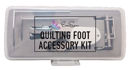 6-pc Accessory Quilting Foot Kit Low Shank by EverSewn - RJ207NS1 Quilting Notio...