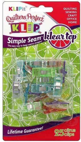 Perfect Klip - Citrus Klear Top 25 ct Klipit
