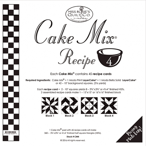 Cake Mix Recipe Cards #4