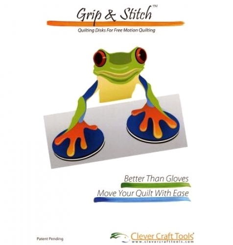 Grip & Stitch Quilting Disks