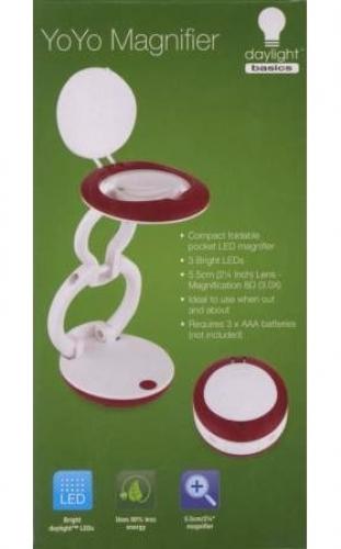 YoYo Magnifier foldable LED