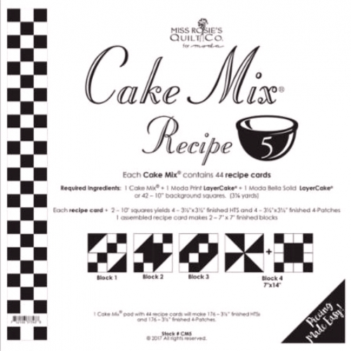 Miss Rosie's  - Cake Mix Recipe 5