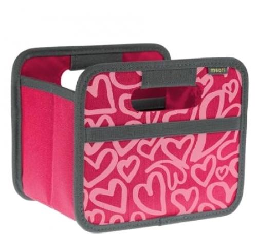 Foldable Box Mini Heart Pink Berry