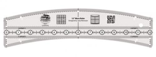 Creative Grids 12 Wave Ruler