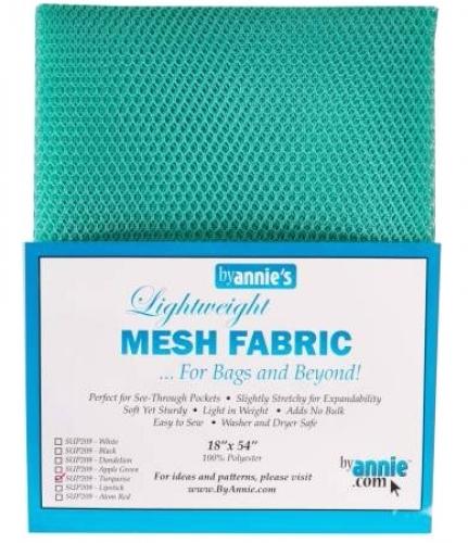 ByAnnie - Mesh Lite Weight 18in x 54in - Turquoise