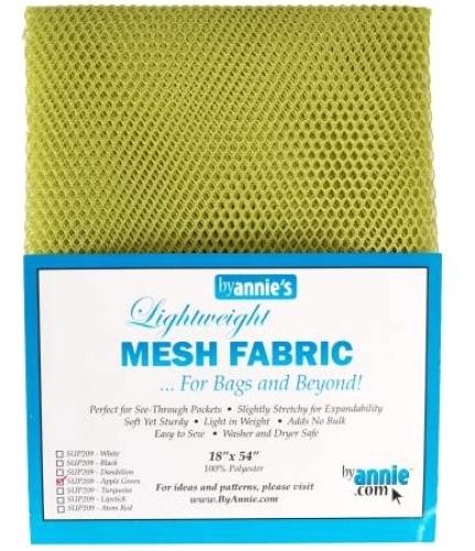 ByAnnie - Mesh Lite Weight 18in x 54in - Apple Green