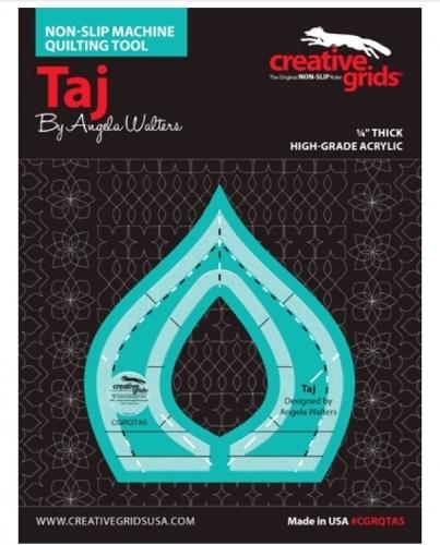 Creative Grids Machine Quilting Tool - Taj CGRQTA5 Rulers & Templates