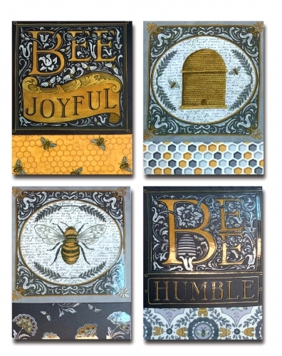 Bee Joyful Notepad