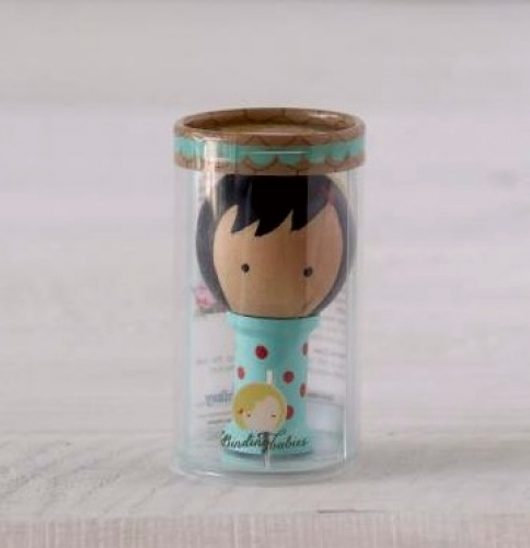 Mini Binding Babies - Aqua
