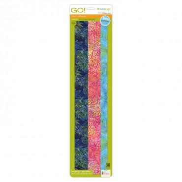 Accuquilt Die GO! 55164 Strip Cutter 1 in, 1.5 in, 2 in 699195551642 / Quilt in a Day / AccuQuilt