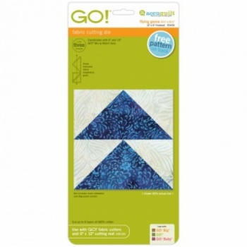 Accuquilt GO! Flying Geese Die 55456