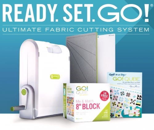 Accuquilt - Ultimate Fabric Cutting System / Quilt in a Day / AccuQuilt