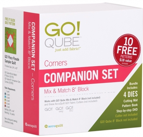 Accuquilt GO! Qube 8 Companion Set-Corners