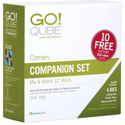 GO! 55787 Qube 12 inch Companion Set - Corners