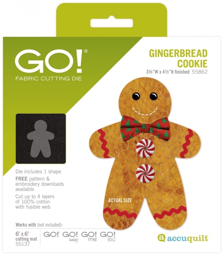 Accuquilt Go! Gingerbread Cookie