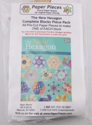 New Hexagon Complete Paper Piece Pack