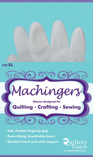 Machingers Quilter's Gloves Extra Large
