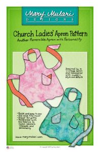 Church Ladies Apron  - Quilt in a Day Patterns