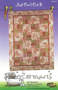 All Washed Up - Just Can't Cut It 013964145205 - Quilt in a Day Patterns