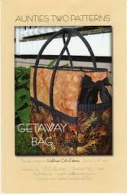 Aunties Two: Getaway Bag 850616002390 - Quilt in a Day Patterns