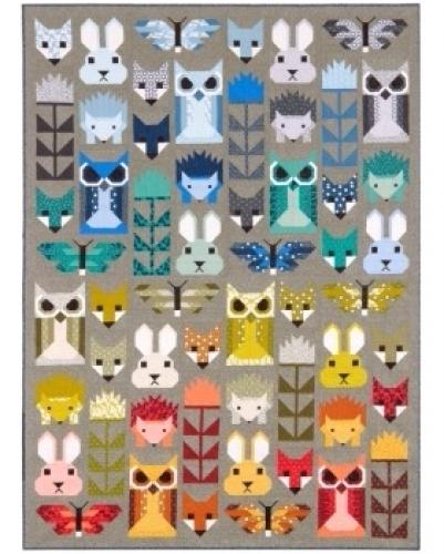 Elizabeth Hartman - Fancy Forest Pattern 712096278293 - Quilt in a Day Patterns