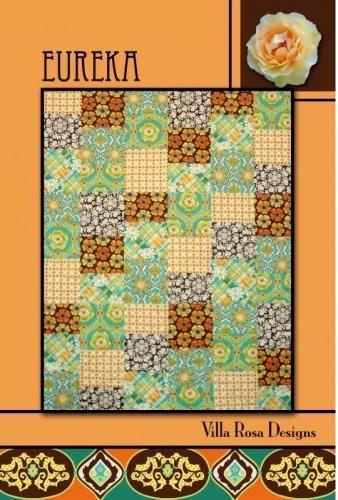 Eureka - Villa Rosa Designs- Quilt in a Day Patterns