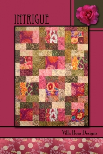 Intrigue - Villa Rosa Designs- Quilt in a Day Patterns