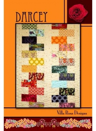 Darcey - Villa Rosa Designs 753807237567 - Quilt in a Day Patterns