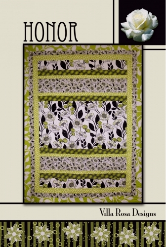 Villa Rosa Designs -Honor -- Quilt in a Day Patterns