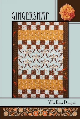 Gingersnap - Villa Rosa Designs- Quilt in a Day Patterns