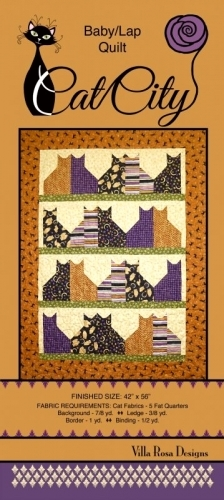 Cat City - Villa Rosa Designs- Quilt in a Day Patterns