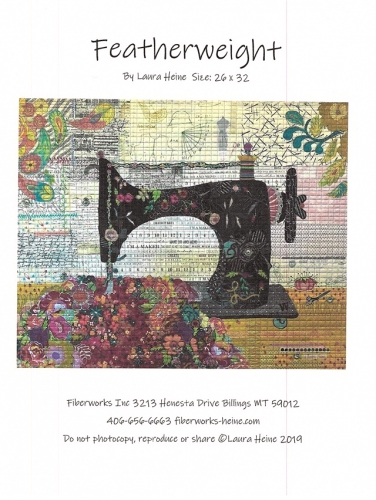Featherweight The Sewing Machine Collage Pattern