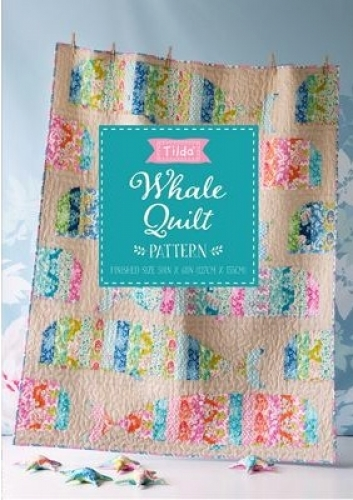 Tilda - Sunkiss Whale Quilt Pattern - Quilt in a Day Patterns