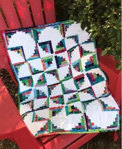 Cut Loose Press - Little Runaway Pinwheels Quilt Pattern CLPJAW063 - Quilt in a ...