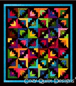 Butterfly Blooms- A Cozy Quilts Design Pattern