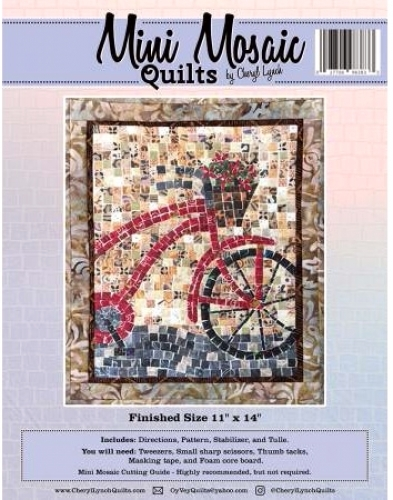 Mosaic Bicycle Pattern - Mini