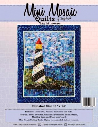 Mini Mosaic - Lighthouse Quilt Pattern 027706983888 - Quilt in a Day Patterns