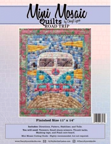 Mini Mosaic - Road Trip Quilt Pattern 027706983932 - Quilt in a Day Patterns