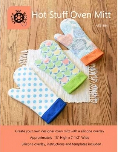 Hot Stuff Oven Mitt by Around the Bobbin 783583398831 - Quilt in a Day Patterns