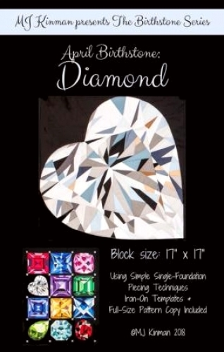 April Birthstone Diamond - Birthstone Series - Quilting Pattern