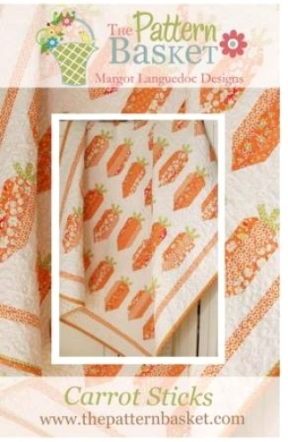 Carrot Sticks Quilt Pattern by The Pattern Basket TPB 1701