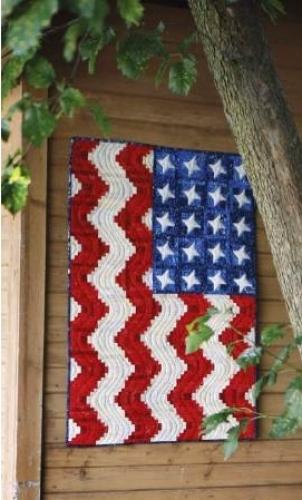 Cut Loose Press - America the Beautiful Pattern CLPPHA008